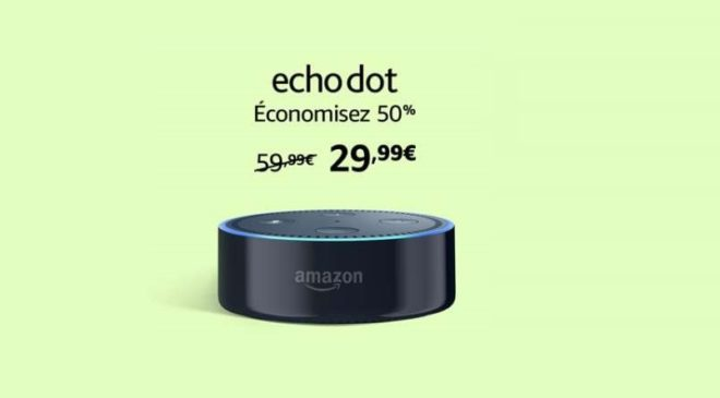 Prime Day Amazon Echo à moins 50%