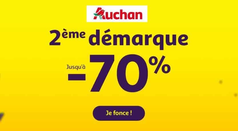 Soldes Auchan 2019 c'est la deuxième démarque