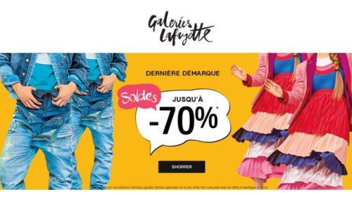 Soldes Galeries Lafayette : 20% en plus sur le Vide stock