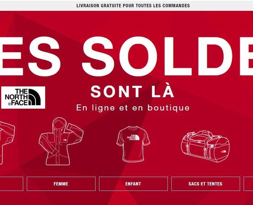 Soldes The North Face vêtements, chaussures, sacs et accessoires jusqu'à -50%