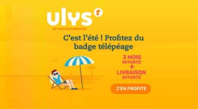 Télépéage Ulys by Vinci Autoroutes code promo