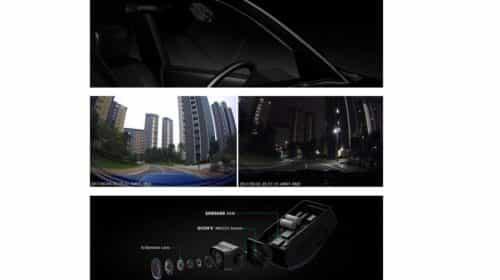 caméra de voiture Full HD Aukey vision nocturne grand angle détecteur mouvement