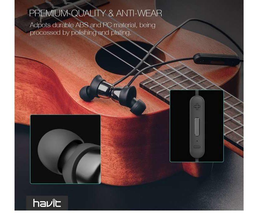 écouteurs sans fil Havit Bluetooth 4.2 avec micro intégré