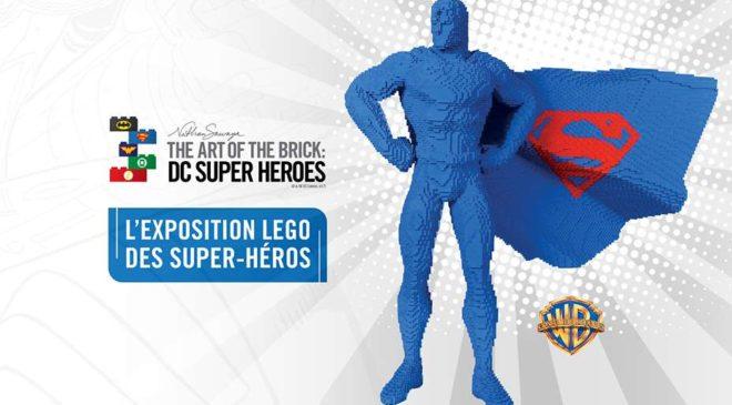 exposition Lego des Super-Héros pas cher