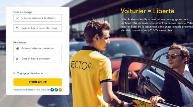 laissez votre voiture au dépose minute avec Ector voiturier