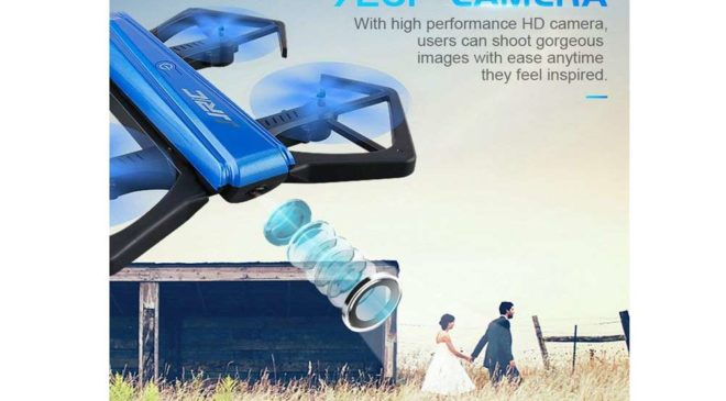 mini-drone pliable WIFI avec camera 720P HD Goolsky JJR