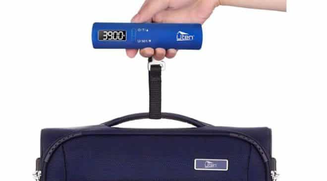 FLASH : 5,99€ le pèse bagages digital Uten jusqu'à 50 kg