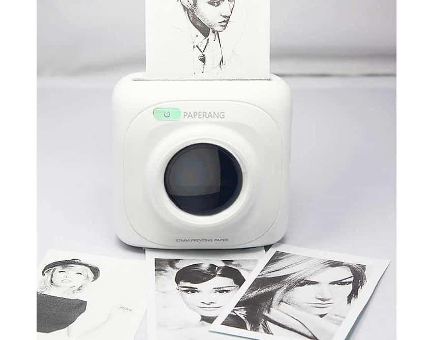 petite imprimante portable PAPERANG P1 sans fil Bluetooth
