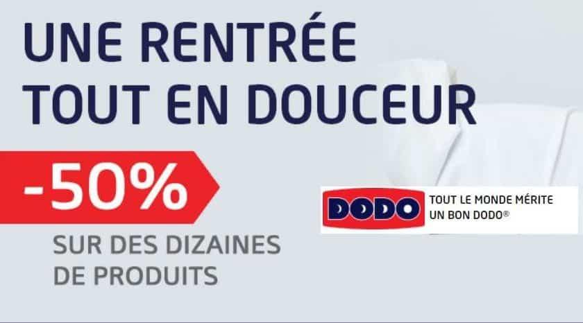 100 articles Dodo à moitié prix