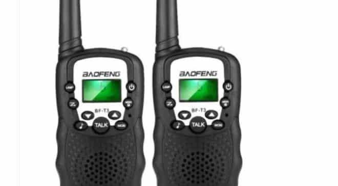 11,24€ les talkies walkies FLOUREON (Rose) 12,97€ les BAOFENG BF