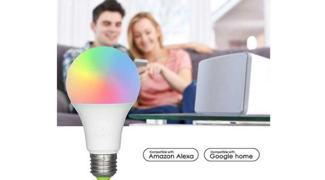 12,29€ ampoule LED connectée Smart Bulb Wi-Fi 16 millions de couleurs
