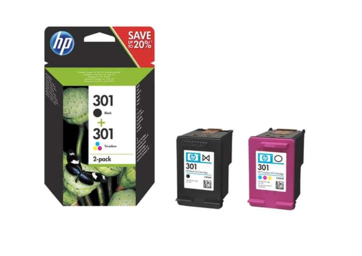 2 packs d'encre HP achetés second moitié prix