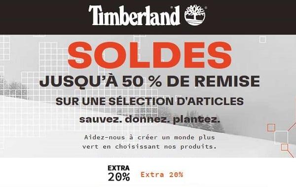 20% Supplémentaire Sur Les Soldes Timberland