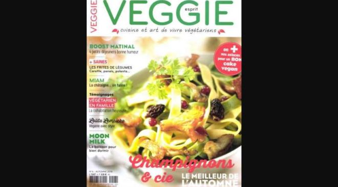 Abonnement magazine Esprit Veggie pas cher