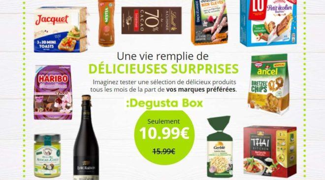 Code promo Exclusif Degustabox 1 produit supplémentaire