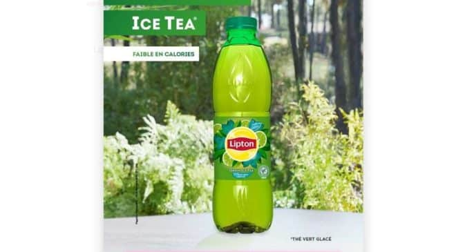 Lipton Green Ice Tea remboursé via Shopmium