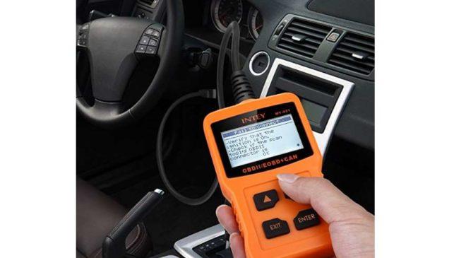 appareil diagnostic voiture multimarque Intey OBDII