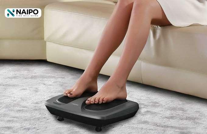 appareil massage pieds 18 points Shiatsu Naipo