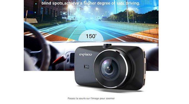 caméra de voiture CACAGOO avec écran LCD