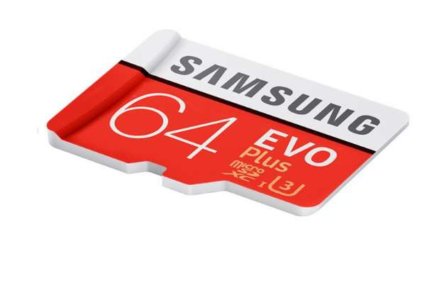 carte microSDXC 64Go EVO PLUS Samsung U3