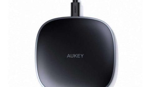 chargeur sans fil à induction QI pour smartphone AUKEY