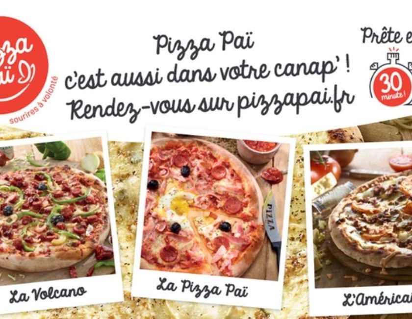 coupon pour bénéficier de l'offre 1 pizza achetée Pizza Paï = 1 pizza gratuite
