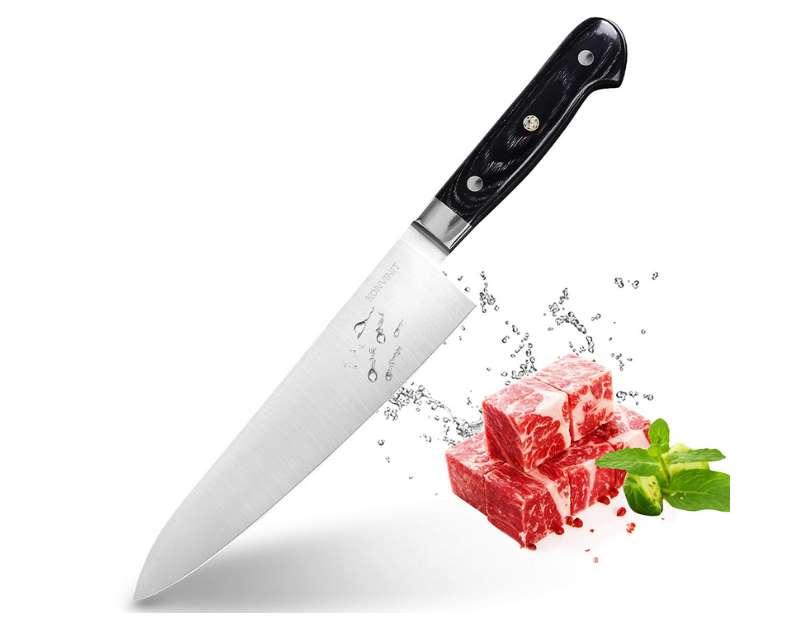 couteau de chef professionnel KONVINIT pas cher