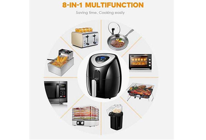 friteuse multifonction sans huile Tidylife AF-11A