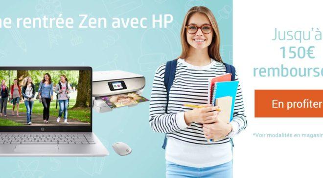 jusqu'à 150€ de remboursement par HP