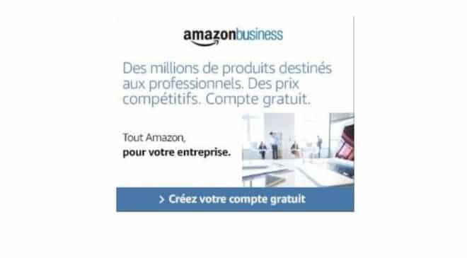 sociétés, PME, micro entreprise… inscrivez-vous sur Amazon Business