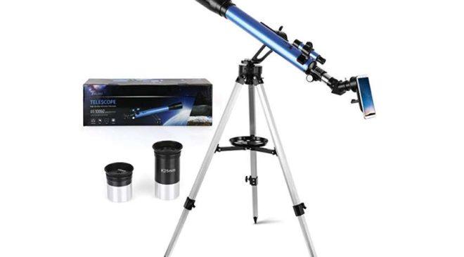 télescope astronomique Telmu x56 GS70060