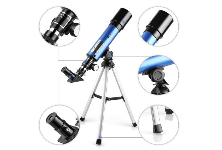 télescope astronomique avec trépied Telmi x18 x60 avec réflecteur