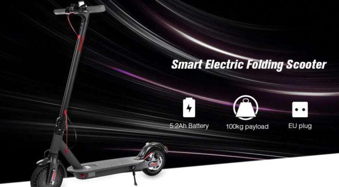 trottinette électrique Alfawise T0 Shockproof pas chere