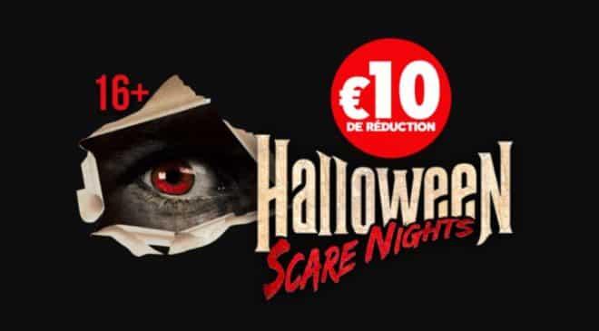 10€ de remise pour Plopsaland Halloween Scare Nights