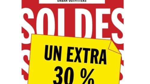 30% supplémentaires sur les SOLDES Urban Outfitters