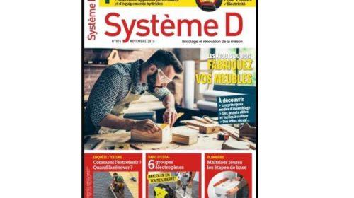 Abonnement magazine Système D pas cher