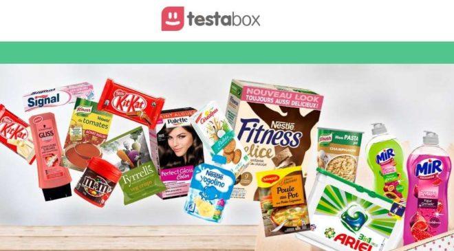 Box Testabox moins chère