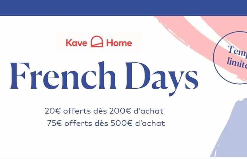 French Days Kavehome