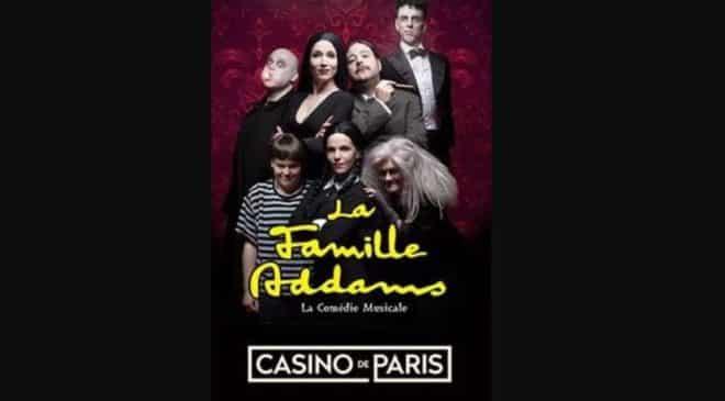 La Famille Addams au Casino de Paris pas cher