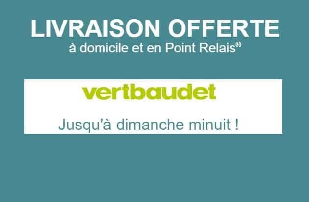 Livraison gratuite sur Vert Baudet