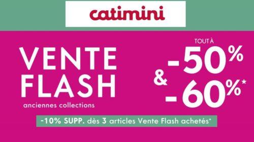 Vente flash Catimini tout à -50% et -60%