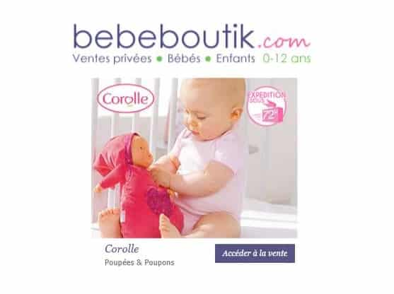 Vente privée Corolle sur Bébé Boutik
