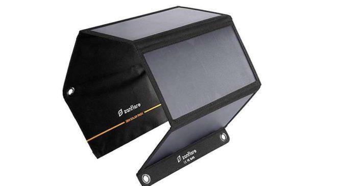 chargeur panneau solaire Zanflare SH54 pas cher