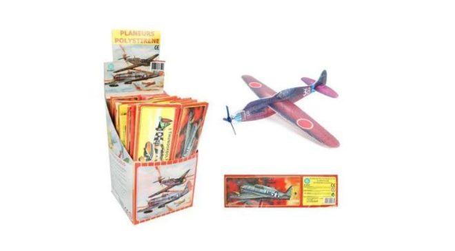 Pas cher : 2,95€ le lot de 12 petits avions en polystyrène – livraison gratuite