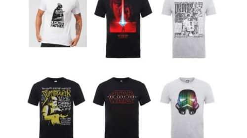 t-shirt officiel Star Wars pour homme, femme ou enfant