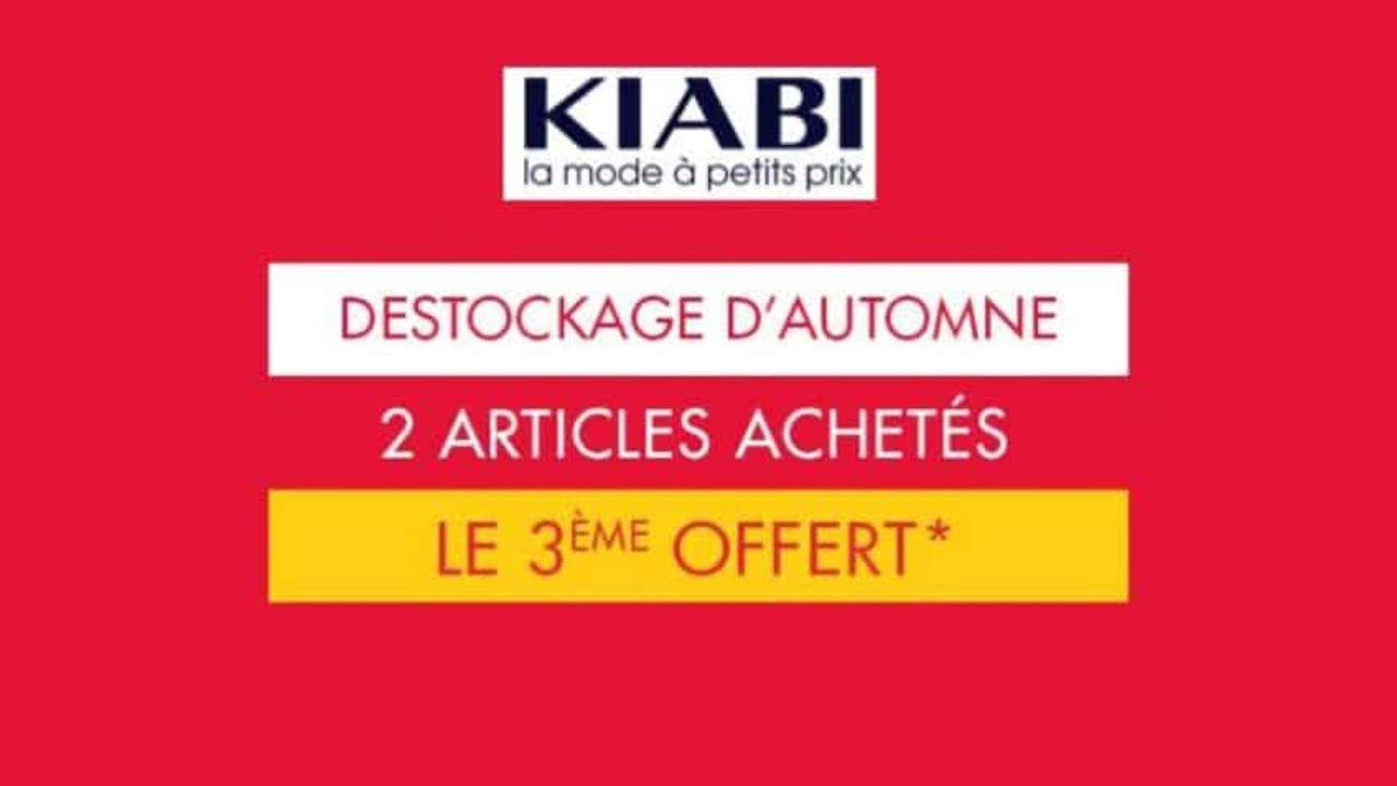 7cfb26e1c0a04 Derniers jours du déstockage Kiabi   le troisième article offert (femme