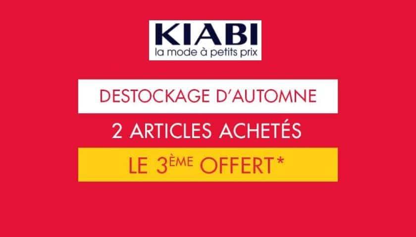 Derniers jours du déstockage Kiabi