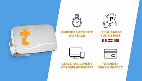 5€ Le Badge Liber T Télépéage Sans Engagement Au Lieu De 15€