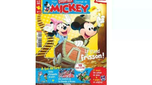Abonnement Mon Premier Journal de Mickey pas cher