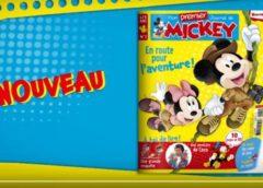 Abonnement Mon Premier Journal de Mickey pas cher : 14,75€ l'année (bimestriel)